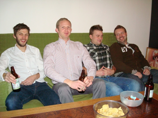 Jon, Benny, Jonny och Anders