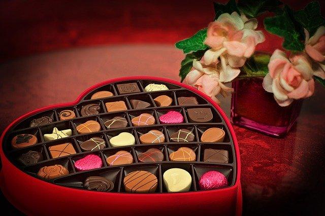 choklad i julklapp