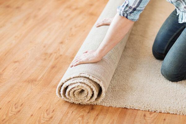 Välj rätt storlek på mattan