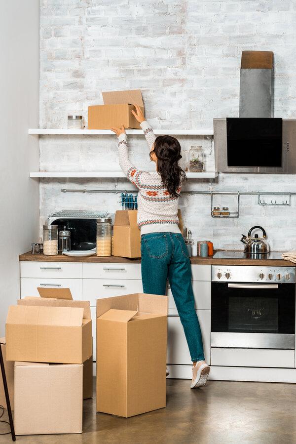 En lista över saker du behöver när du flyttar hemifrån.