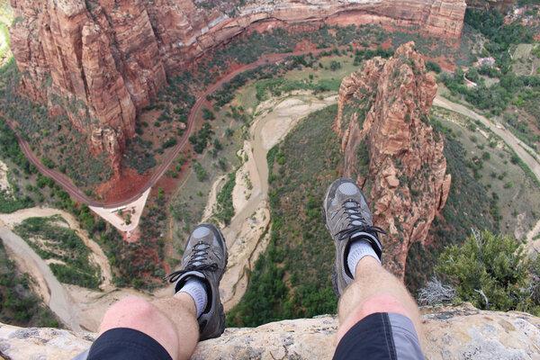 Att hantera sin höjdskräck.