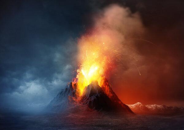 Lär känna några av världens största vulkaner