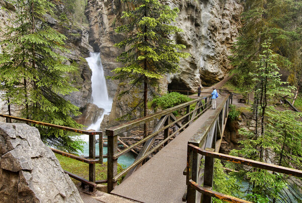 Sveriges högsta vattenfall - Njupeskär
