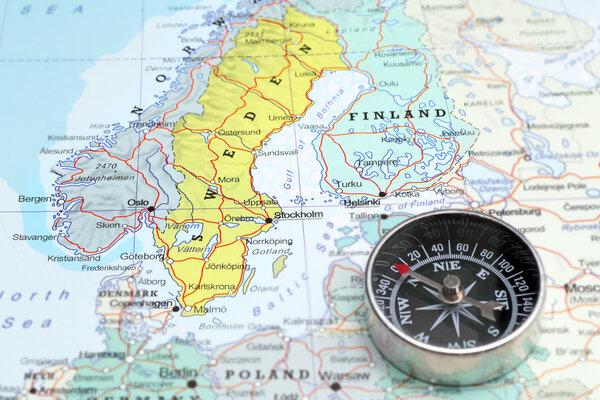 Hur långt är hela Sverige?