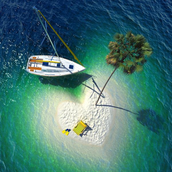 Platser att besöka i Karibien.