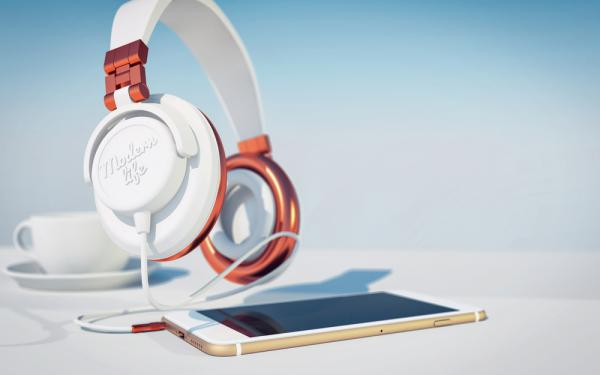 Snygga headset